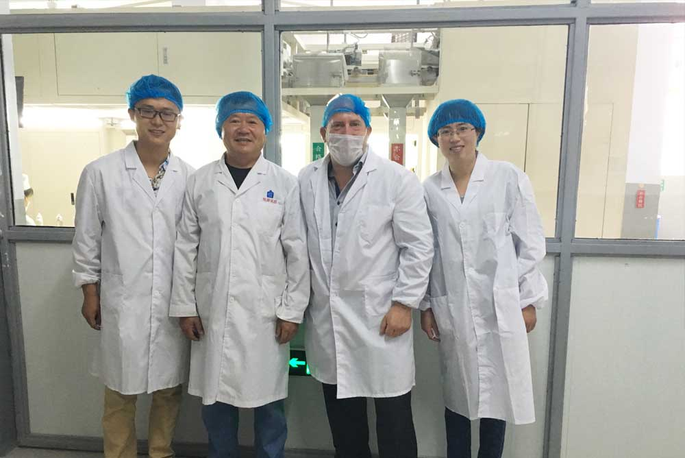 condom buyers from Canada visit our condom test Lab