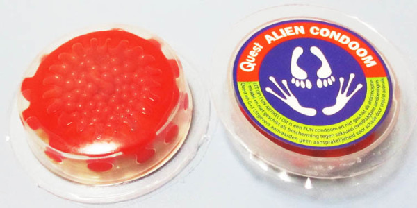 hammerhead alien spike condom