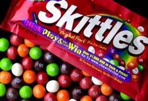 Skittle flavored condoms
