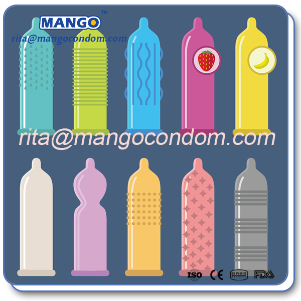 of condom type Different