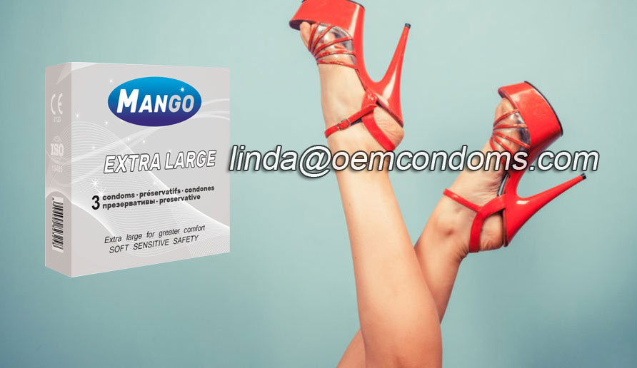 MANGO condom, MANGO brand condom, MANGO extra large condom