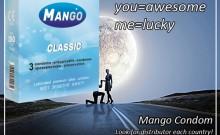 Mango classic condom