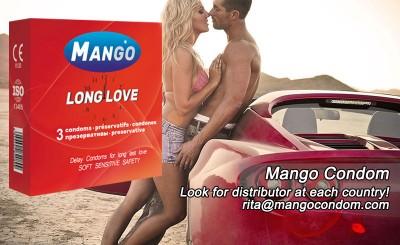 Mango long love condoms,delay condoms,last longer condoms