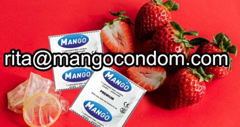 strawberry aroma condom