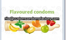 flavored condoms,condom flavor,custom flavor condom