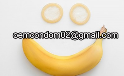banana flavored condoms producer