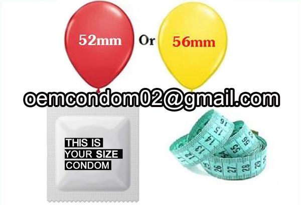 custom size condom,custom condom size,condom sizes