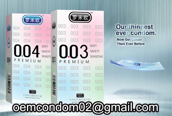 thinnest condom manufacture