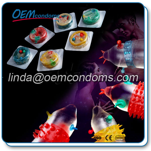 spike tickler condom