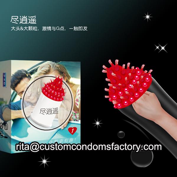 special spike condom,fun condom,spike condom