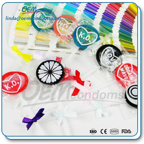 novelty condoms, special condoms, lollipop condoms, novelty condom suppliers, flavored condoms